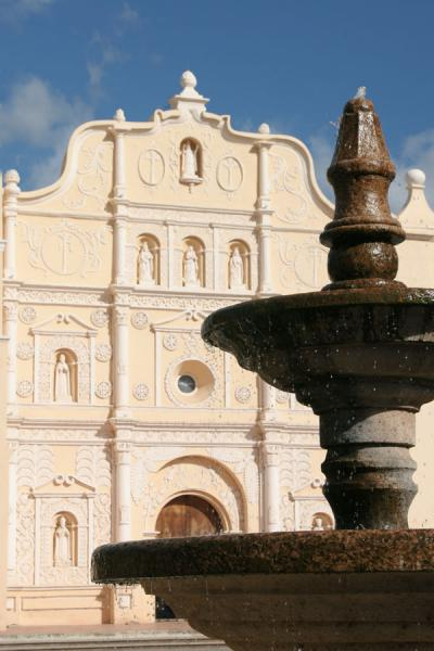 Fountain on central park in Comayagua | Comayagua | Honduras
