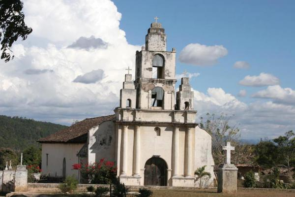 Picture of Erandique: oldest church