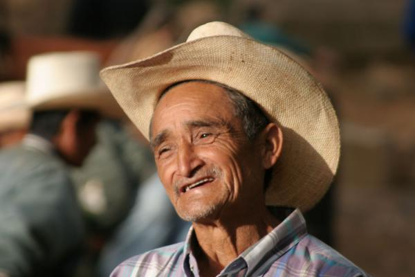 Man in Western Honduras with typical sombrero or hat | Honduran People | Honduras