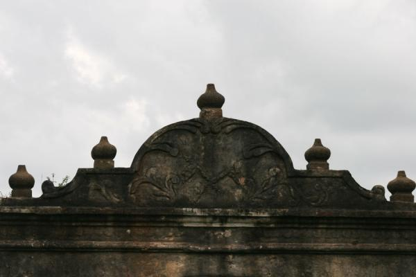 Foto de Detail of roof of Trujillo houseTrujillo - Honduras