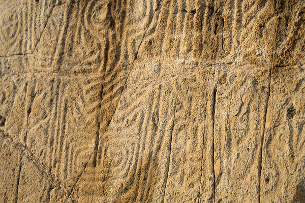 Picture of Ancient rock carving near the Big Wave beach