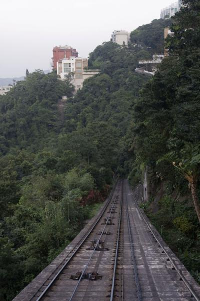 The Peak Tram runs right up to Victoria Peak | Victoria Peak | Hong Kong