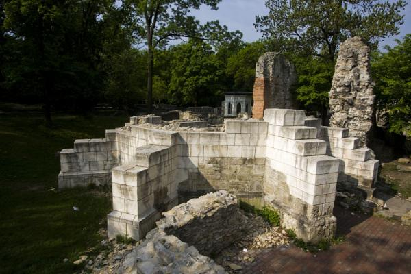 Ruins of the Dominican convent on Margaret Island | Margit eiland | Hongarije