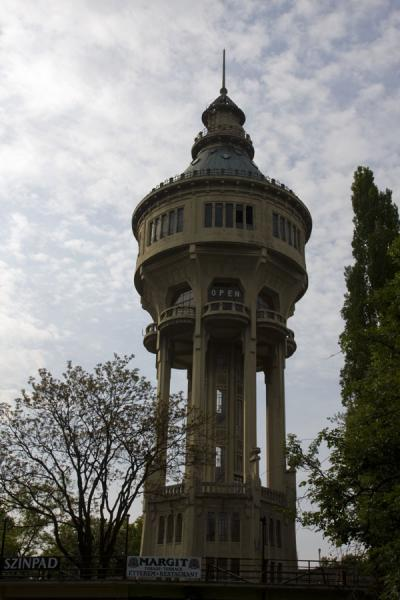 The Water Tower is the tallest structure on Margaret Island | Margit eiland | Hongarije