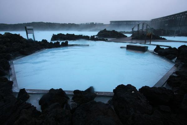 Pools in the Blue Lagoon | Laguna Azul | Islandia