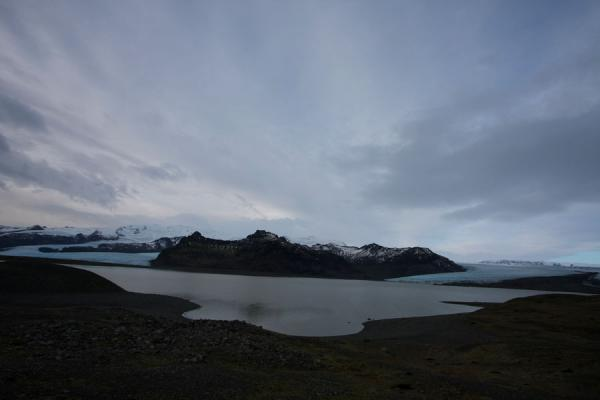 Picture of View over Fjallsárlón with glaciersFjallsárlón - Iceland