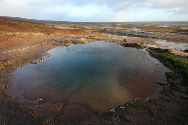 One of the hot pools in the Geysir area | Geysir | Iceland