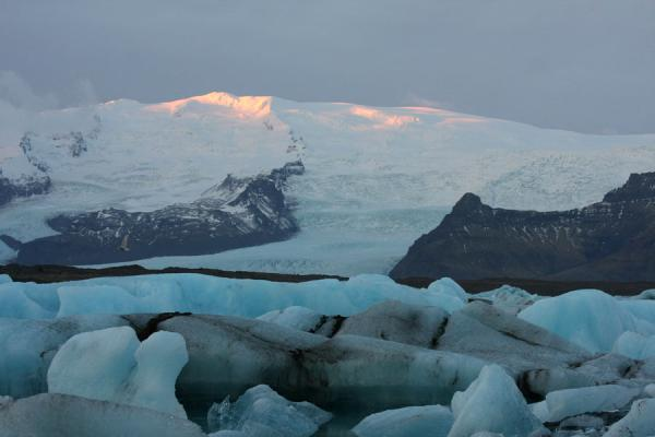 Picture of Early morning scene at Jökulsárlón