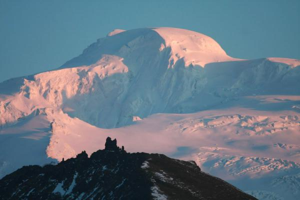 Picture of Snow-capped Hvannadalshnúkur in Skaftafell National Park
