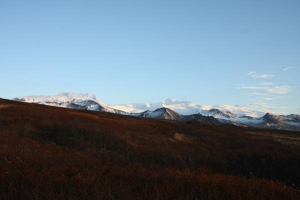 Picture of View over some of the mountains near Vatnajökull glacierSkaftafell - Iceland