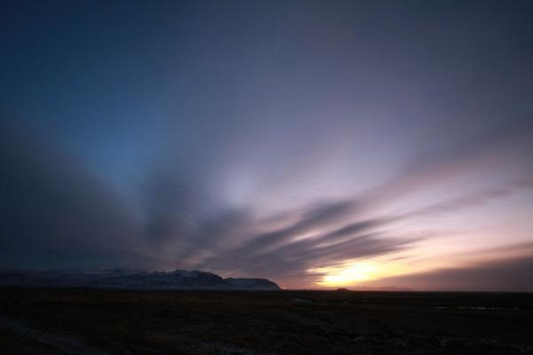 Picture of Early winter morning light over the landscape of Snæfellsnes - Iceland - Europe