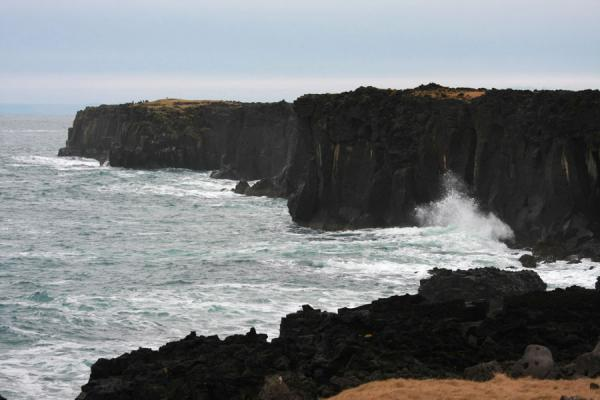 Picture of Rugged lava coastline on the northwestern part of SnæfellsnesSnæfellsnes - Iceland