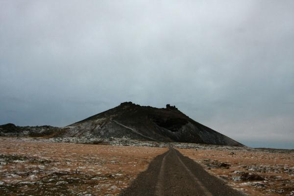 Extinct volcano Saxhöll on the western coast of Snæfellsnes | Snæfellsnes | Iceland