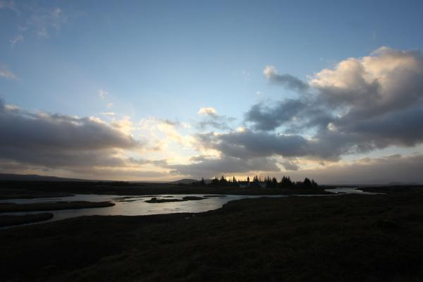 Picture of Sunrise over the Þingvellir landscapeÞingvellir - Iceland