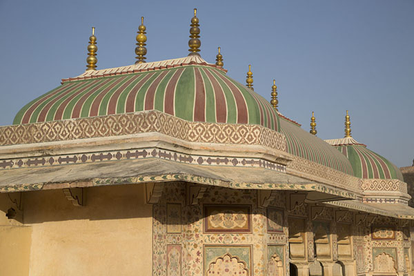 Roof of Ganesh Pol in Amber Fort | Amber Fort | 印度