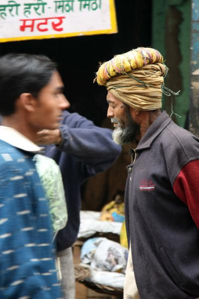 Picture of Chawri Bazaar (India): Passer by in a street