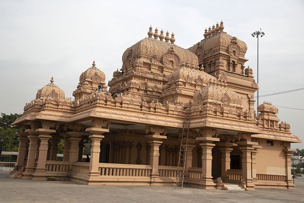 One of the shrines of the Chhatarpur temple complex | Chhatarpur Mandir | India
