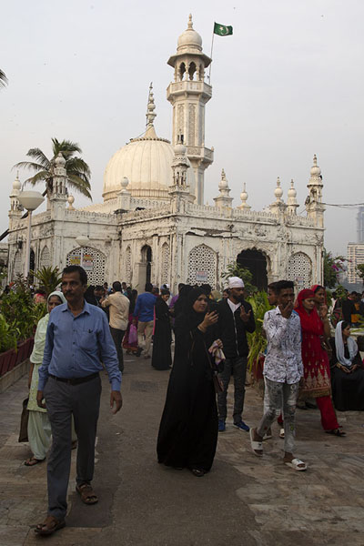 Picture of The shrine and mosqueMumbai - India