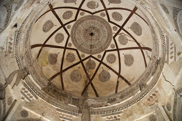 Picture of Looking up the dome of the mausoleum of Firoz Shah Tughlaq