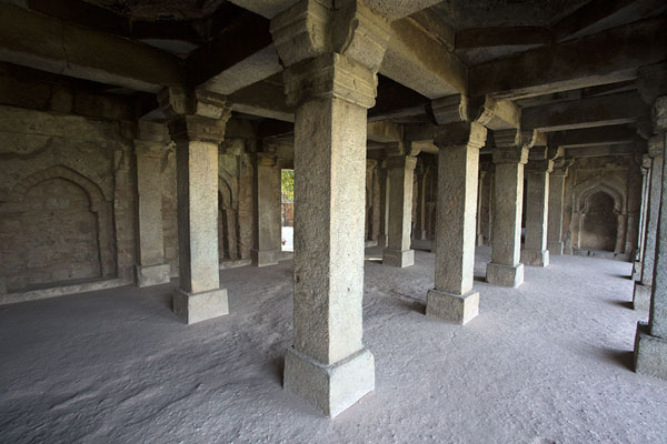 Picture of Gallery in the west wing madrasa of Hauz Khas - India