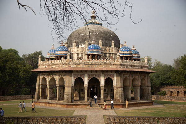 The octagonal mausoleum of Isa Khan | Humayun Tomb | India