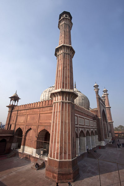 Picture of View from the south towards the mosque of Jama Masjid