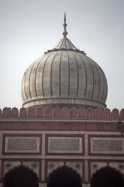 The main dome of Jama Masjid | Jama Masjid | India