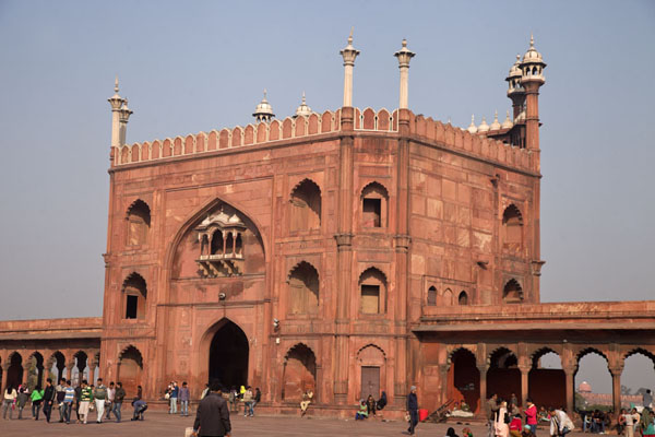 The eastern exit of the Jama Masjid | Jama Masjid | India