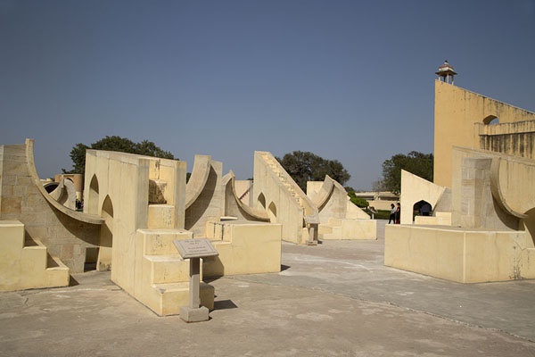Some of the twelve instruments allowing measurements for zodiacs, unique to Jantar Mantar | Jantar Mantar | India