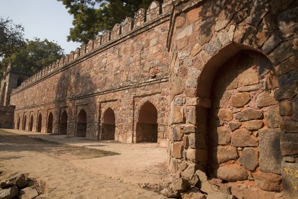 Wall surrounding the tomb of Sikander Lodi | Lodi Gardens | India