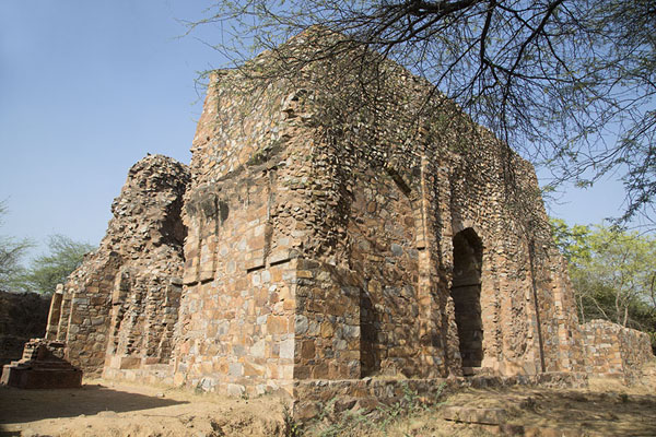 Picture of Side view of the tomb of Balban - India - Asia