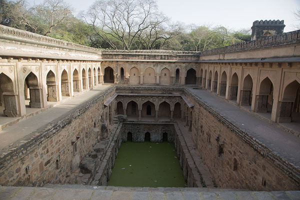 The Rajon ki Baoli stepwell | Mehrauli Archaeological Park | India