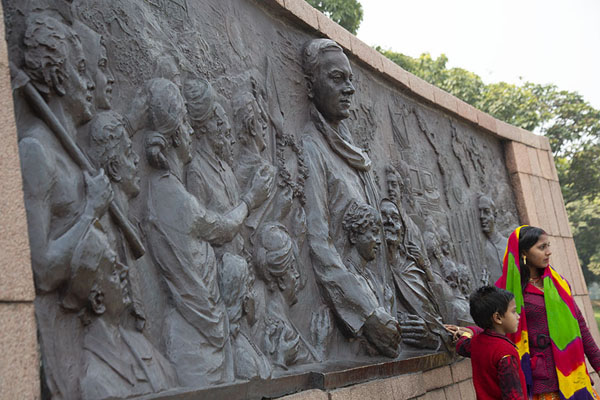 Photo de Memorial to Rajiv GandhiDelhi - Inde