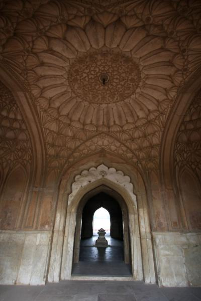 Looking through arches of Safdarjung Tomb | Safdarjung Tomb | India