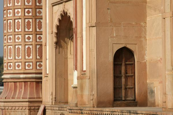 Picture of Door and pillar of Safdarjung Tomb