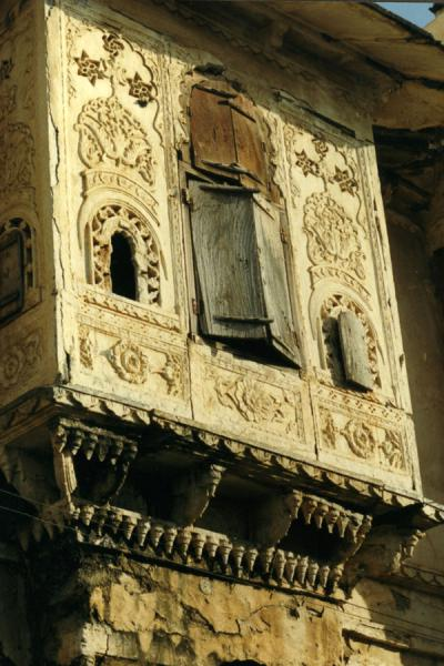 Picture of Udaipur (India): Balcony of traditional house in Udaipur