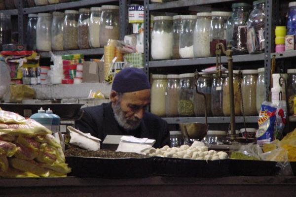 Administering a shop | Esfahan Bazaar | Iran
