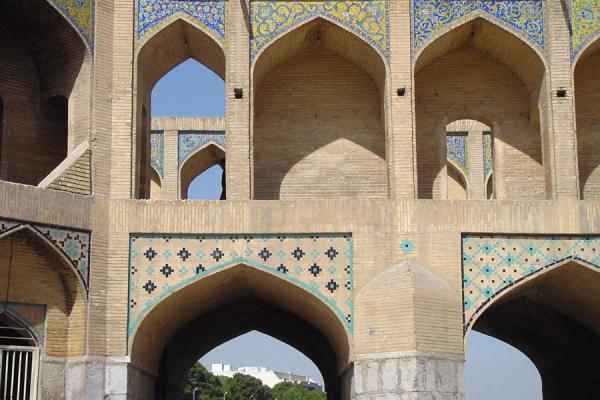 Picture of Esfahan Bridges (Iran): Khaju Bridge - Esfahan