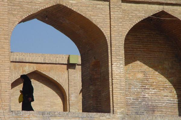 Foto di The Si o Se bridge from outsideEsfahan - Iran
