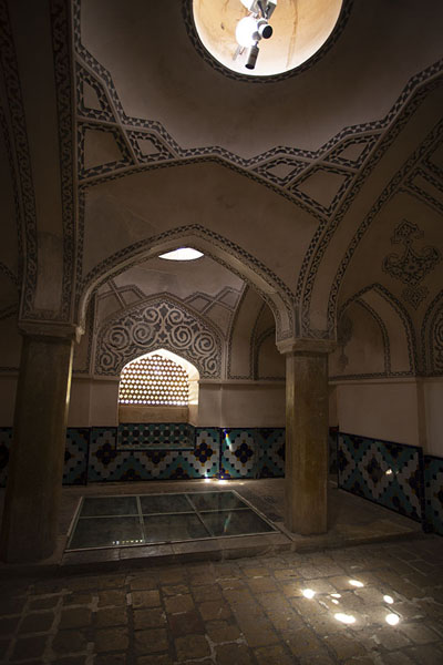 Inside the hammam, part of Fin Garden | Jardines de Fin | Irán