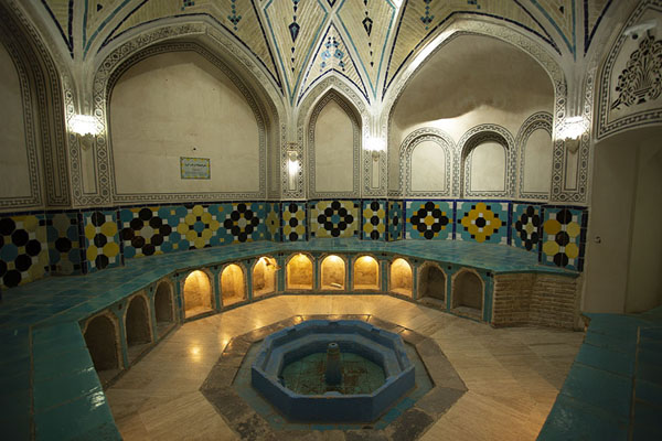 Small hall in the hammam | Hammam-e Sultan mir Ahmed | Iran