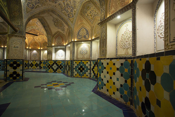 Part of the central hall of the bathhouse | Hammam-e Sultan mir Ahmed | Iran