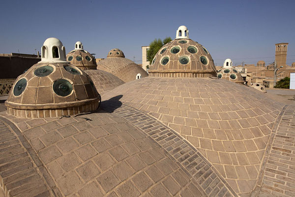 Picture of Rooftop of the hammamKashan - Iran
