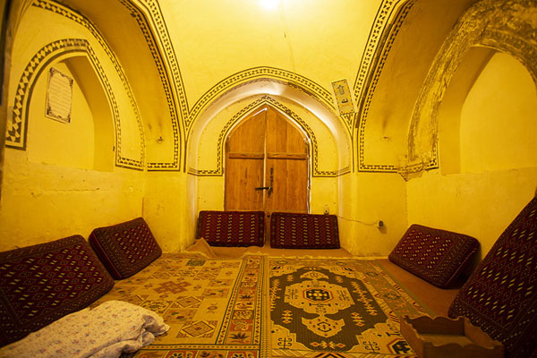 Sitting room in the hammam | Hammam-e Sultan mir Ahmed | Iran