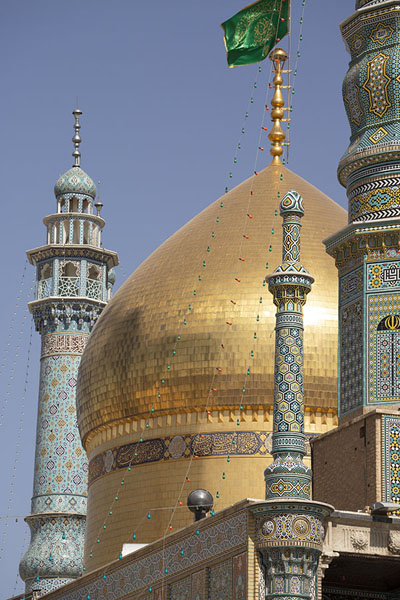Golden dome added by Fath Ali Shah古欧姆 - 伊朗