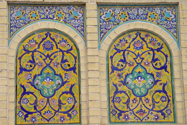 Picture of Detail of Hazrat e Mazumeh mosque - Gom