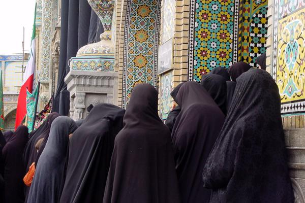 Group of women attending a service  | Iran veils | Iran