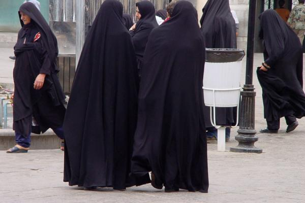 Chatting women | Iran veils | Iran