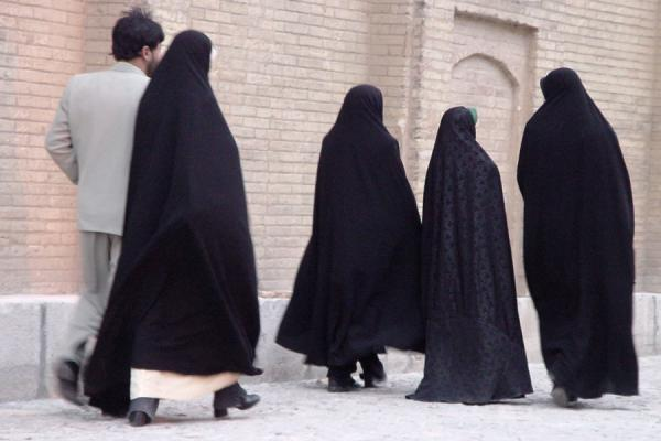 Walking  in the streets | Iran veils | Iran