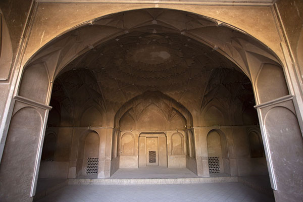 The basement of Khan-e Borujerdi: an austere cellar once flooded in water | Khan-e Borujerdi | Iran